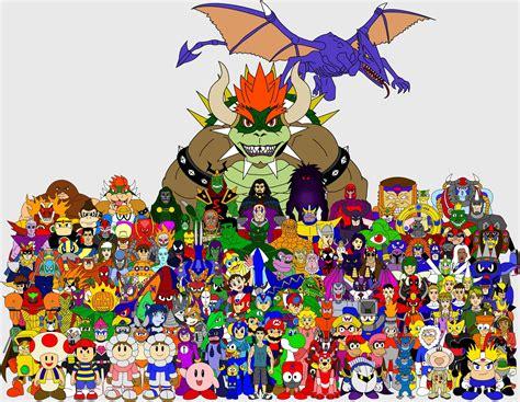 Nintendo Vs Capcom Vs Marvel By Thesweetroseprince On