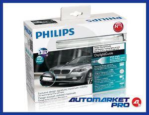 lade a led per auto omologate kit 2 led diurne auto philips daylight guide