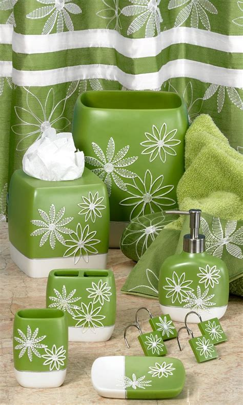 Green Glass Bath Accessories by Green Glass Bathroom Accessories 2 Kvriver
