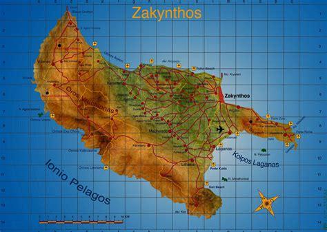 mapas detallados de zante  descargar gratis  imprimir