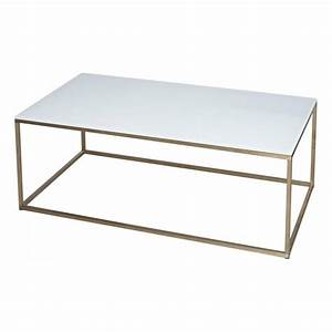 buy white glass and metal rectangular coffee table from With gold rectangle coffee table