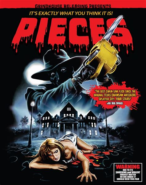 Grindhouse Releasing Presents Pieces 80s Slasher Classic