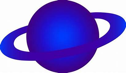 Planet Cartoon Clip Clipart Alien Cliparts Purple