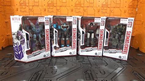 transformers netflix war  cybertron deluxe figures