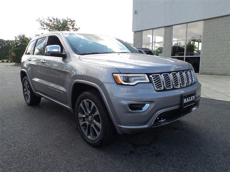 New 2018 Jeep Grand Cherokee Overland Sport Utility in