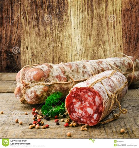 italian salami italian salami stock photo image 42958842
