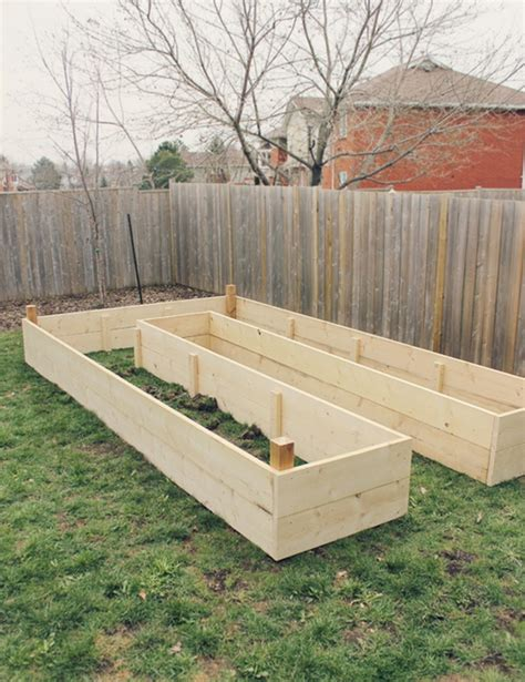 build raised garden bed diy easy access raised garden bed the owner builder network