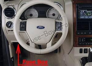 Fuse Box Diagram  U0026gt  Ford Explorer  2006