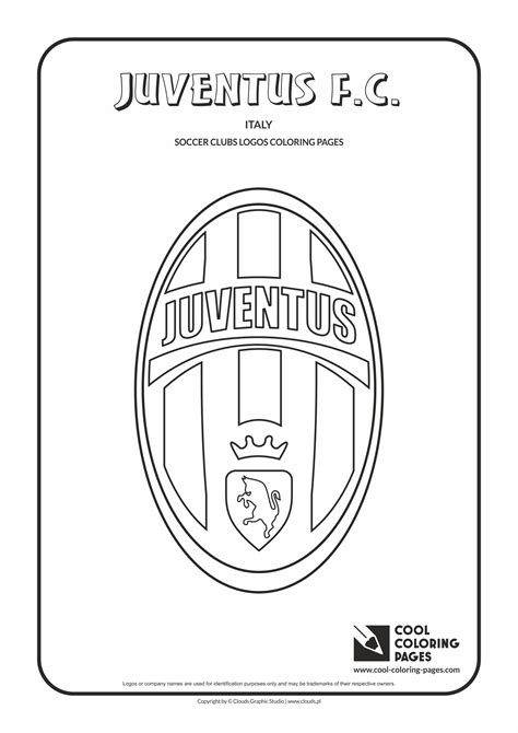 cool coloring pages juventus fc logo coloring page
