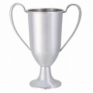 """Pewter Loving Cup Trophy 9"""" 