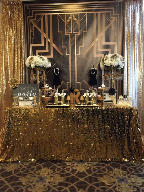 great gatsby birthday party ideas photo    catch