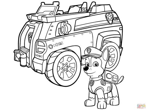 Skye and everest rainbow colouring page. Free Printable Paw Patrol Coloring Pages   Free Printable