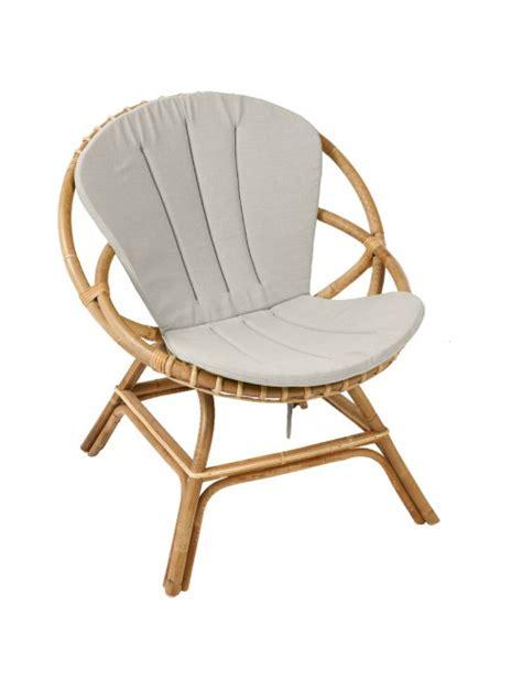 chaise ronde en rotin coussin pour fauteuil brigitte fauteuil rotin kok