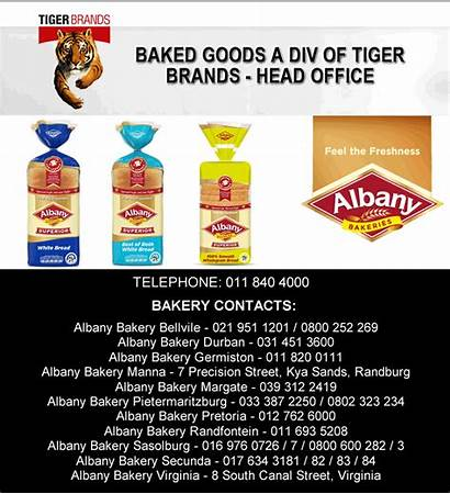 Bakery Brands Goods Baked Tiger Albany Piet