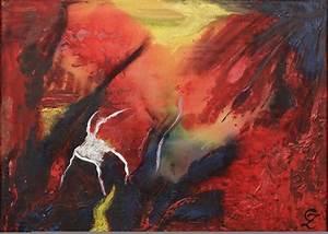 Fotos Auf Acryl : 39 vulkan acryl auf leinwand materialmix 50 x 60 rain ~ Watch28wear.com Haus und Dekorationen