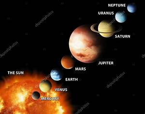 Solsystemet  U2014 Stockfotografi  U00a9 Aaronrutten  2918882