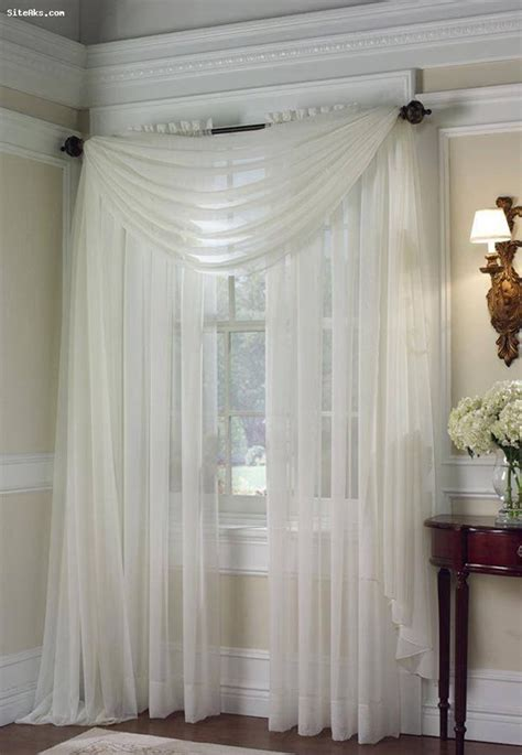 sheer curtains ideas  pinterest window