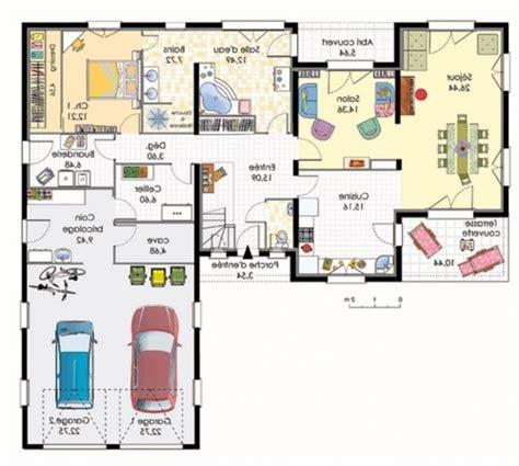 plan maison 4 chambres plain pied plan maison plain pied 120m2 28 images plan maison