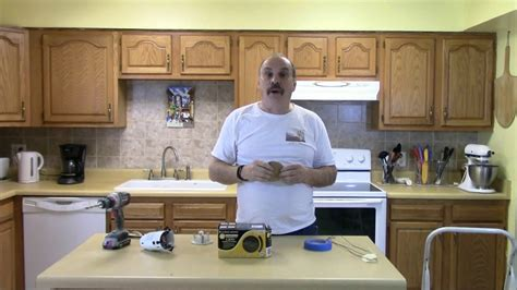 Installing New Kitchen Lights In A Small Kitchen  Youtube