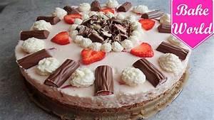 Torte Schnell Einfach : yogurette torte selber machen ohne backen schnell einfach erdbeertorte youtube ~ Eleganceandgraceweddings.com Haus und Dekorationen