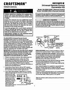 Reset Keypad Code Craftsman Garage Door Opener