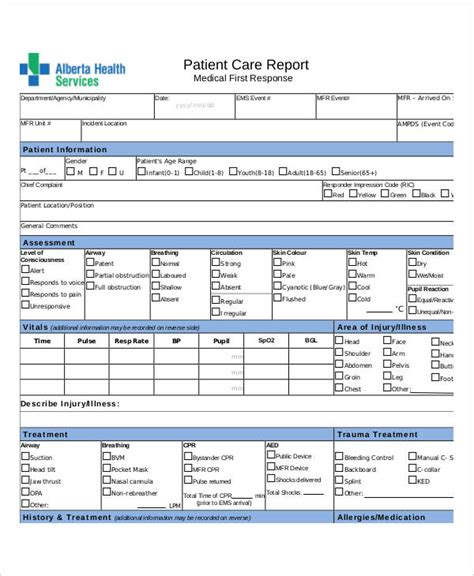 examples  report forms examples
