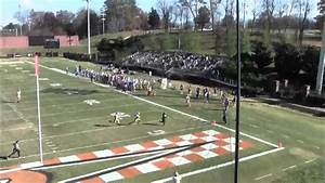 Tusculum College Bo Cordell #19 2013 Highlights - YouTube