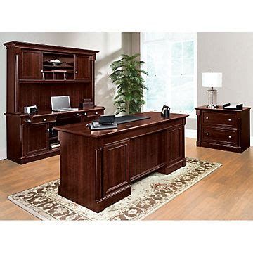 Sauder Palladia Desk With Hutch by 17 Images About Home Office On Pedestal