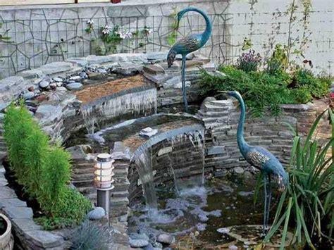 waterfall feature designs 20 spectacular backyard ideas waterfalls that top off backyard landscaping
