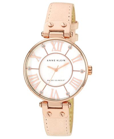 Anne Klein Watch, Women's Peach Leather Strap 34mm 10. Double Band Wedding Ring. Rustic Wedding Rings. Oblong Watches. Gps Coordinates Bracelet. Bulk Diamond. Jewellery Bangles. Low Profile Engagement Rings. Crystal Beads For Jewelry