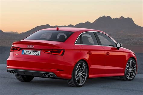 Audi S3 Sedan Boasts Sae 296 Hp, 0-60 In 4.7 Seconds