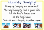 Humpty Dumpty Nursery Rhyme K-3 Teacher Resources