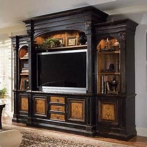 Hooker Furniture Shelf Above Tv And Furniture On Pinterest