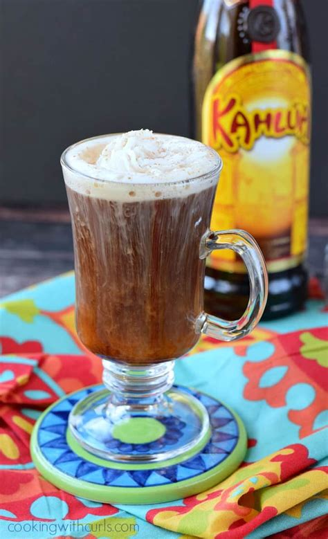 A coffee liqueur is a cocktail. Mexican Coffee Cocktail - Cooking With Curls
