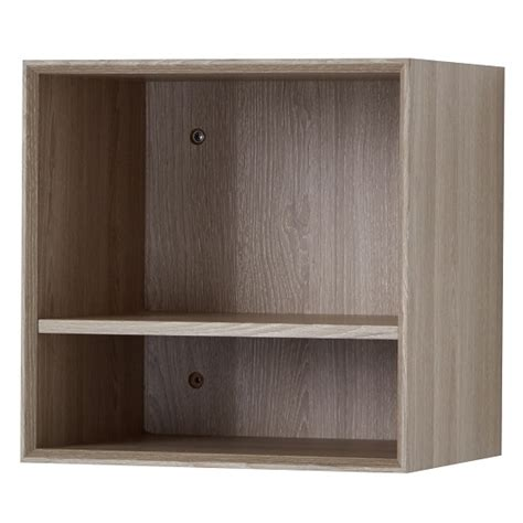 Mounted Shelving Unit by Wall Mounted Shelving Unit In Sonoma Oak 30381