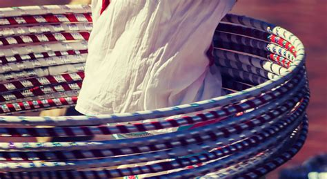 hula hoop selber bauen hula hoop werkstatt deichbrand festival