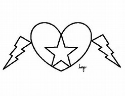 hd wallpapers hearts stars coloring page loveloveh3dfcf - Coloring Pages Hearts Stars