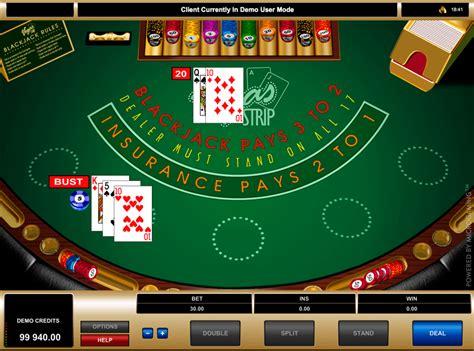 play vegas strip blackjack  microgaming  blackjack