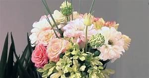 5 regles d39or pour composer un bouquet champetre rond With chambre bébé design avec bouquet de fleurs pour un mariage
