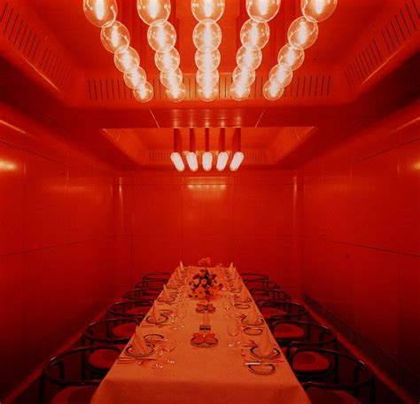 Red Color Room