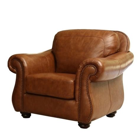 decorative stools and benches abbyson living erickson leather accent chair in camel