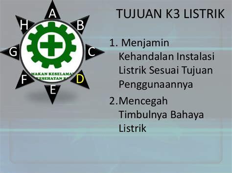 k3 untuk listrik