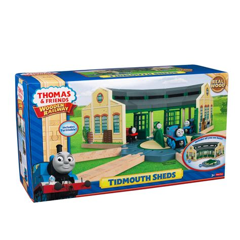 and friends tidmouth sheds playset friends wooden railway tidmouth sheds playset 163
