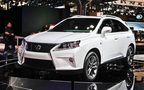 2013 Lexus Rx 350 Fsport  2012 New York Auto Show