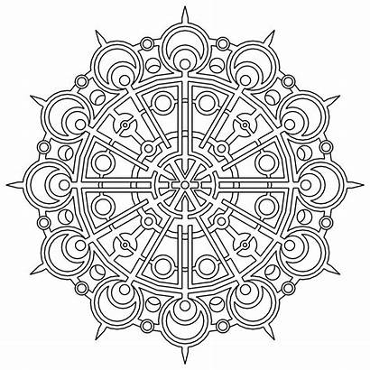 Geometric Pages Coloring Printable