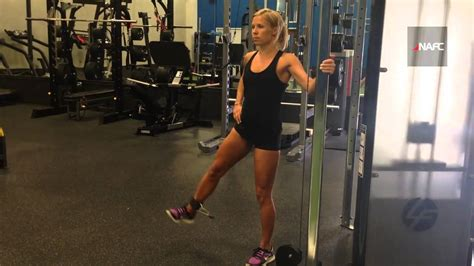 lateral leg liftraise cable youtube