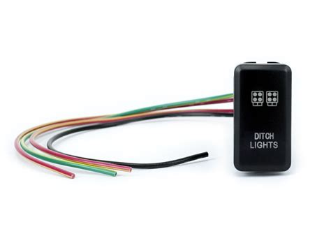 Toyotum Wiring Switch by Toyota Oem Quot Ditch Lights Quot Switch Cali Raised Led
