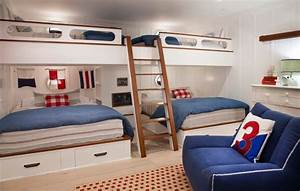 Shocking-Queen-Bunk-Beds-Decorating-Ideas-Images-in-Kids