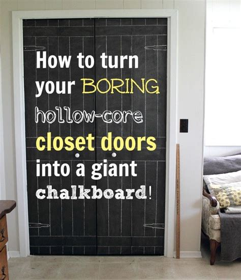 diy closet door update turn plain doors into a