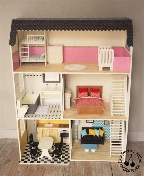 Maison De Barbie  # 6  Les Meubles (chambres Et Salle De
